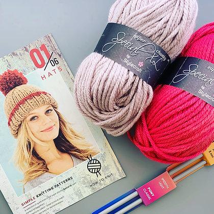 Beginner's Knitting Kit
