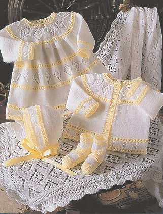 4163 Stylecraft Baby 4 ply Pattern