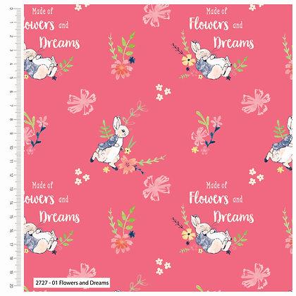 Peter Rabbit Cotton Fabric