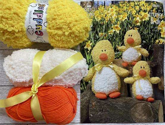 Easter Chick Knitting Kit