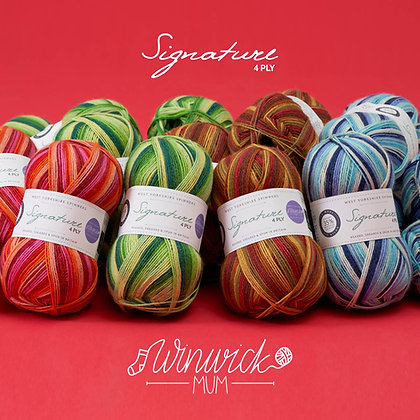 Signature 4ply Seasons Collection WYS