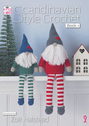 Scandinavian Style Crochet: Book 1