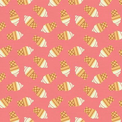 Strawberry Ice Cream Food Truck