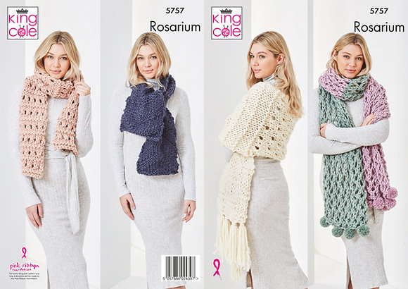 5757 Rosarium Scarf Pattern