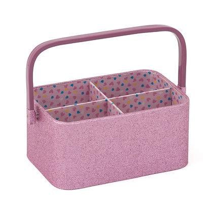 Craft Organiser: Rose Glitter