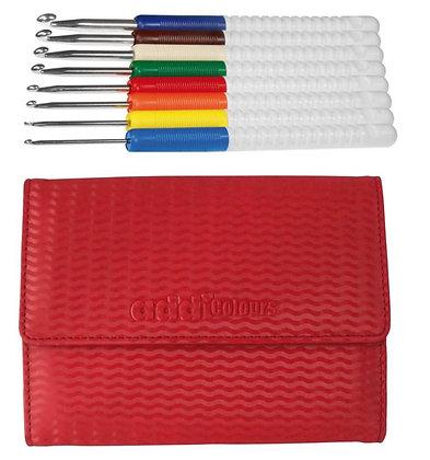 addi Colours Crochet Hook Set (2mm-6mm)