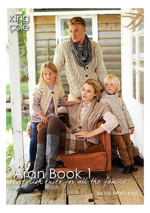 King Cole Aran Book 1