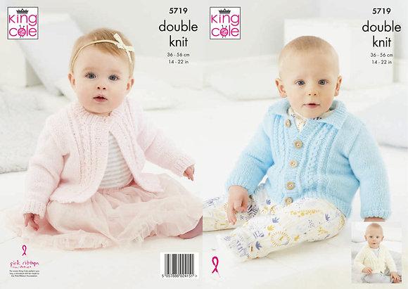 King Cole 5719 Knitting Pattern