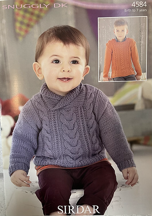 Sirdar Knitting Pattern 4584
