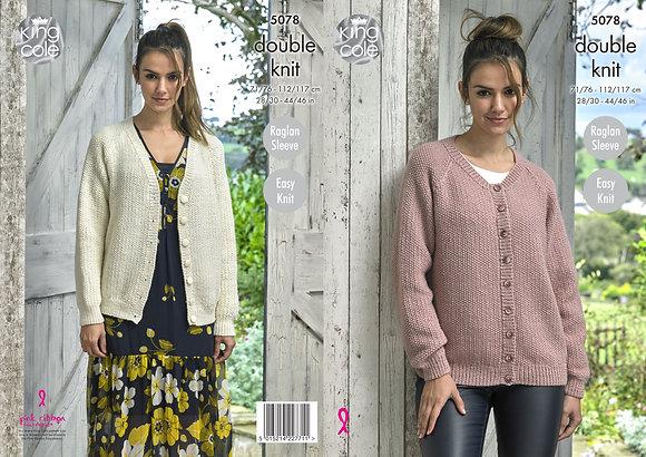 5078 Ladies Cardigan Pattern