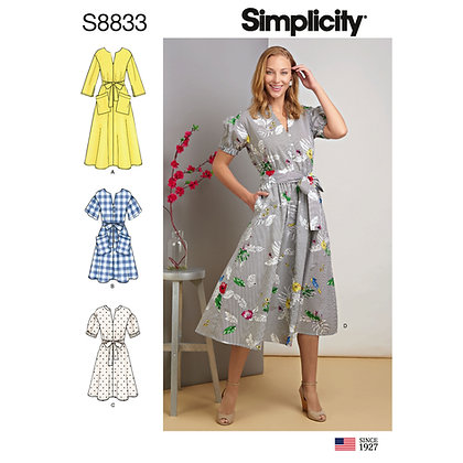 S8833 Dress Pattern