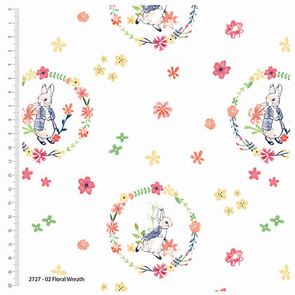 Peter Rabbit Collection - Floral Wreath