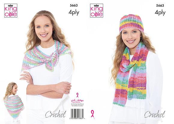 5663 Summer 4 ply Crochet Pattern