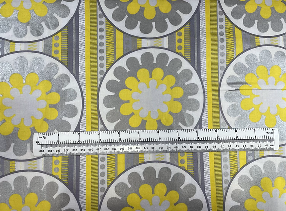 Yellow & Silver Flower