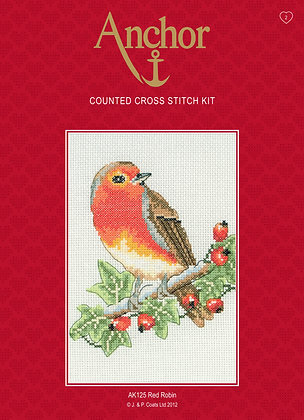 Anchor Cross Stitch | Red Robin