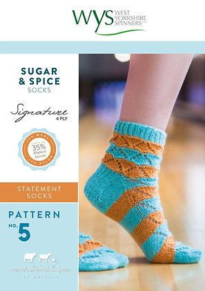 Sugar & Spice Sock Pattern