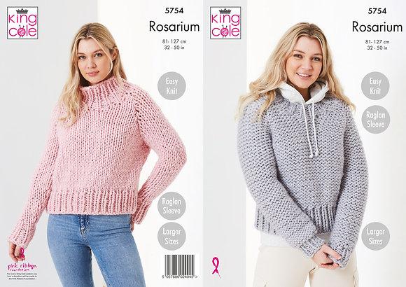 5754 Rosarium Jumper Pattern