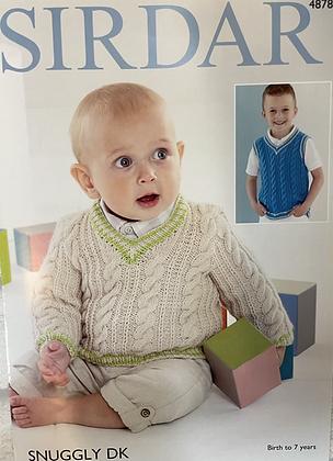 Sirdar Knitting Pattern 4878