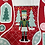 Thumbnail: Nutcracker Fabric Stocking Panel