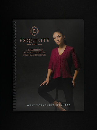 The Exquisite 4 Ply pattern book