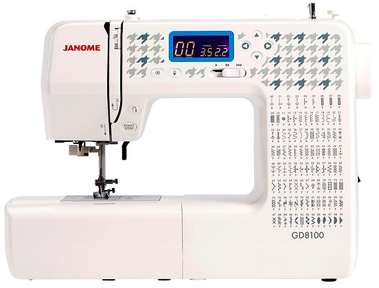Janome GD8100 Computerised Sewing Machine