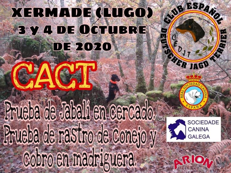 CACT 3 y 4 Octubre