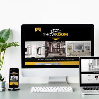 CONSTRUCTION & INTERIOR DESIGN WEBSITE DESIGN
