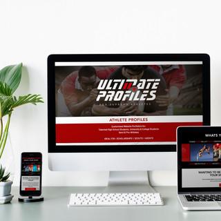 SPORTS PROFILES WEBSITE DESIGN
