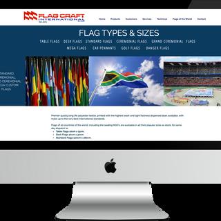 FLAG MANUFACTURER WEBSITE DESIGN