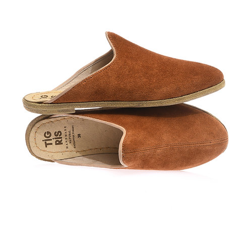 Autumn Brown Slippers