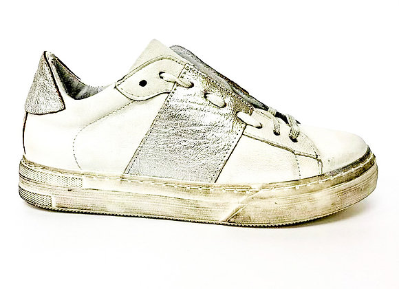 Sneakers con striscia