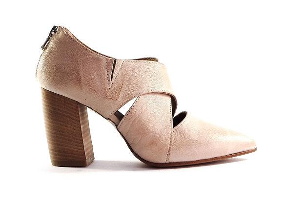 Ankle boot incrociato