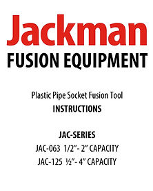 Jackman Socket Fusion Tool Instructions