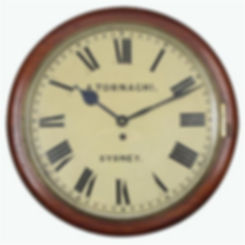 Tornaghi Railway Clock Sydney Price $2,995.00