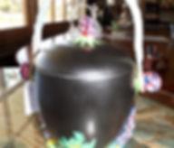 Clarice Cliff Rare Biscuit Barrel $695.00