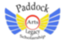 paddock arts legacy scholarshop logo flo