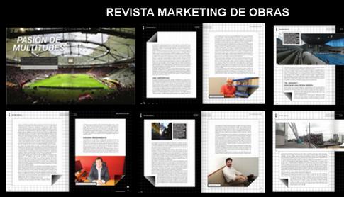 Revista MARKETING DE OBRAS - Arquitectura deportiva - ABRIL 2016