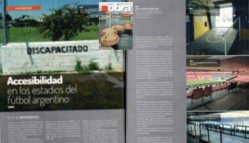 Revista OBRA - Accesibilidad en los estadios del futbol argentino - DICIEMBRE  2015
