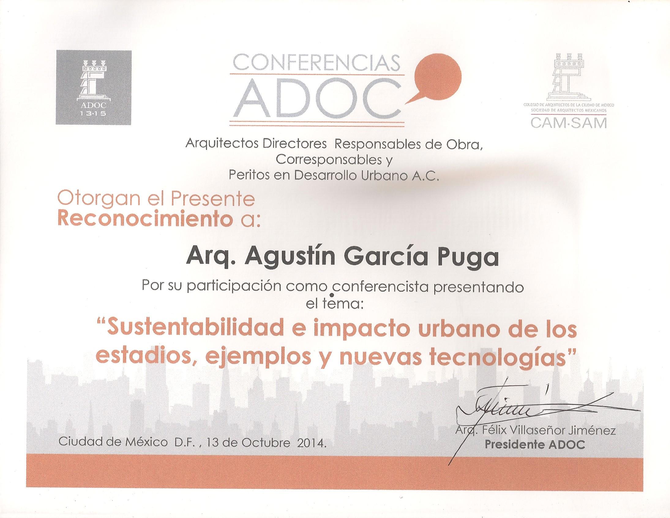 ADOC Mexico 2014