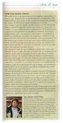 Nota Revista Vivienda - Estadio ciudad de la plata- Diciembre 2010