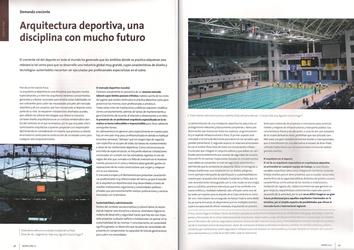 Revista CPAU - Arquitectura deportiva. Una disciplina con mucho futuro - 2012