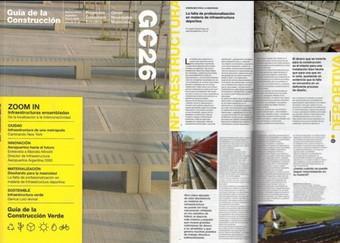 Revista GUIA DE LA CONSTRUCCIÓN - La falta de profesionalizacion en materia de infraestructura deportiva - JUNIO 2017