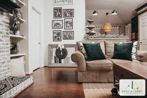 holiday home decor_living room wreath pi