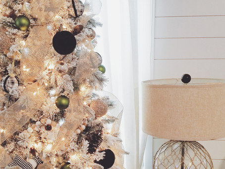 Shop my home/ Re-create my 'Designer' Christmas Tree with 10 items for less than I paid!