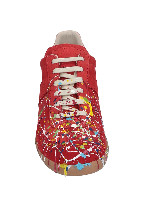 Maison Margiela     | Red Replica Sneakers
