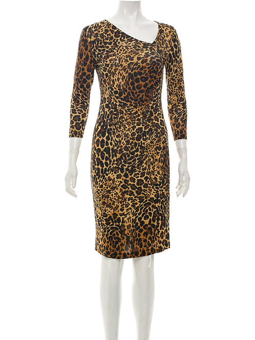 LAFAYETTE 148 | Animal Print  Dress