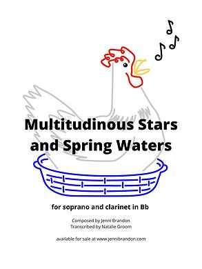 Multitudinous Stars Sheet Music Cover.pn