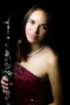 Natalie Grom, clarinet