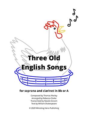 Three Old English Songs Sheet Music Cove