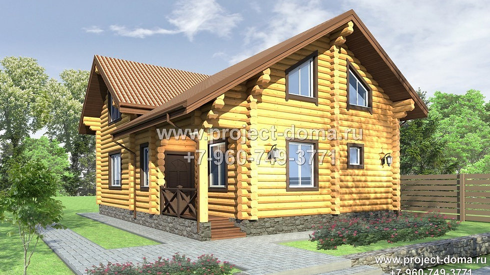 Д-146 Деревянный жилой дом